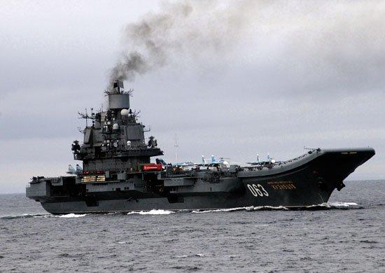 ТАВКР «Адмирал Флота Советского Союза Кузнецов» Северного флота