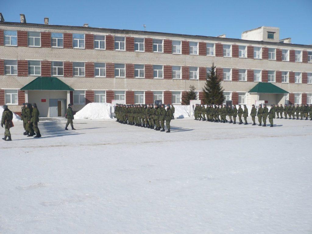 ВЧ 29753. Плац воинской части