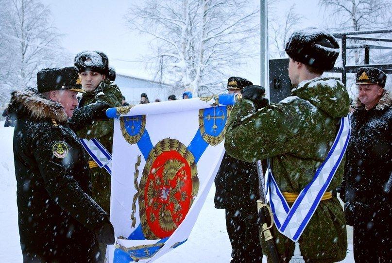 ВЧ 34667. Вручение боевого знамени