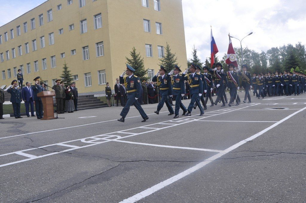 Вручение ордена Жукова 21-й Бригаде