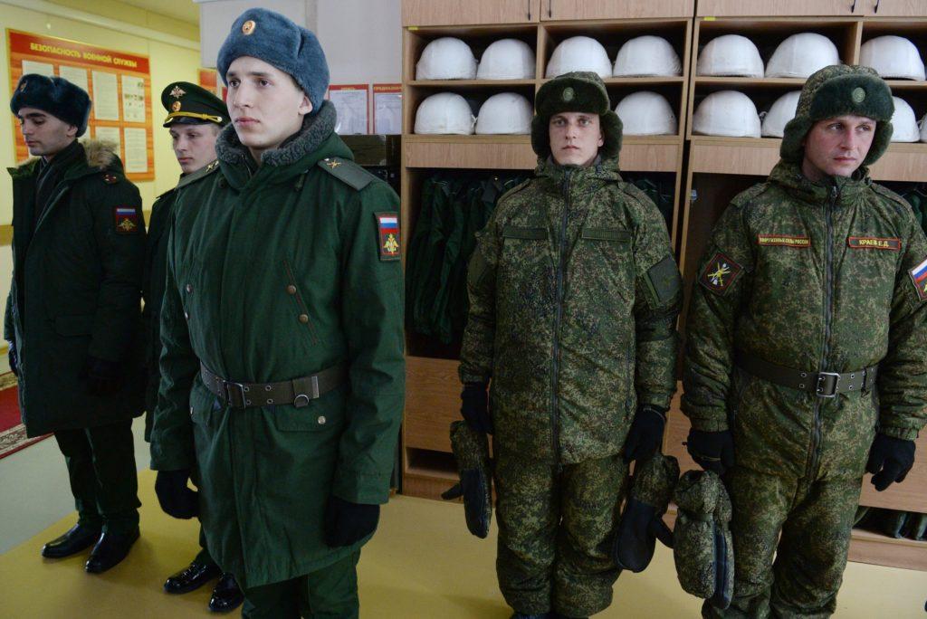 Идеальный внешний вид военнослужащих