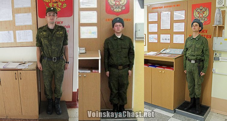 Дневальный роты
