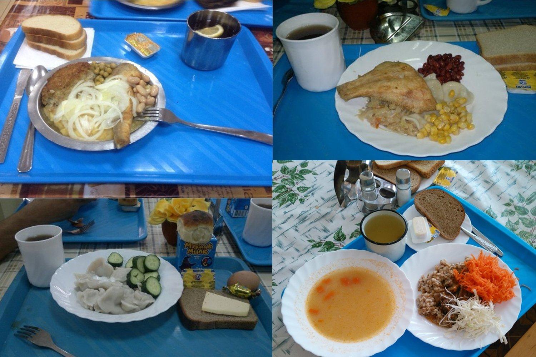 Ужин в армии РФ