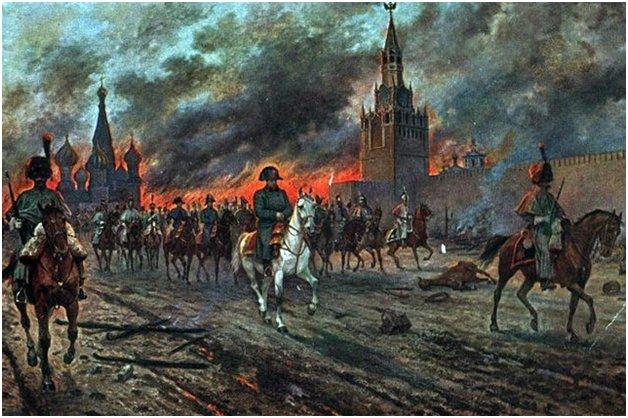 Москва в огне