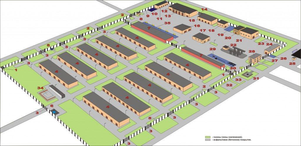 Пример схемы парка военной техники