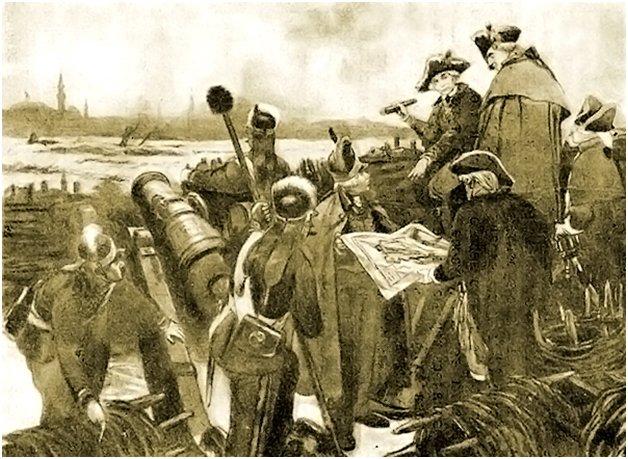 Артиллерия под командованием Кутузова