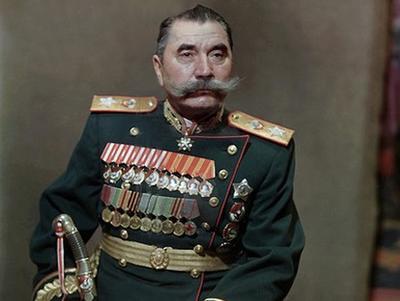 Будённый Семен Михайлович в парадном мундире
