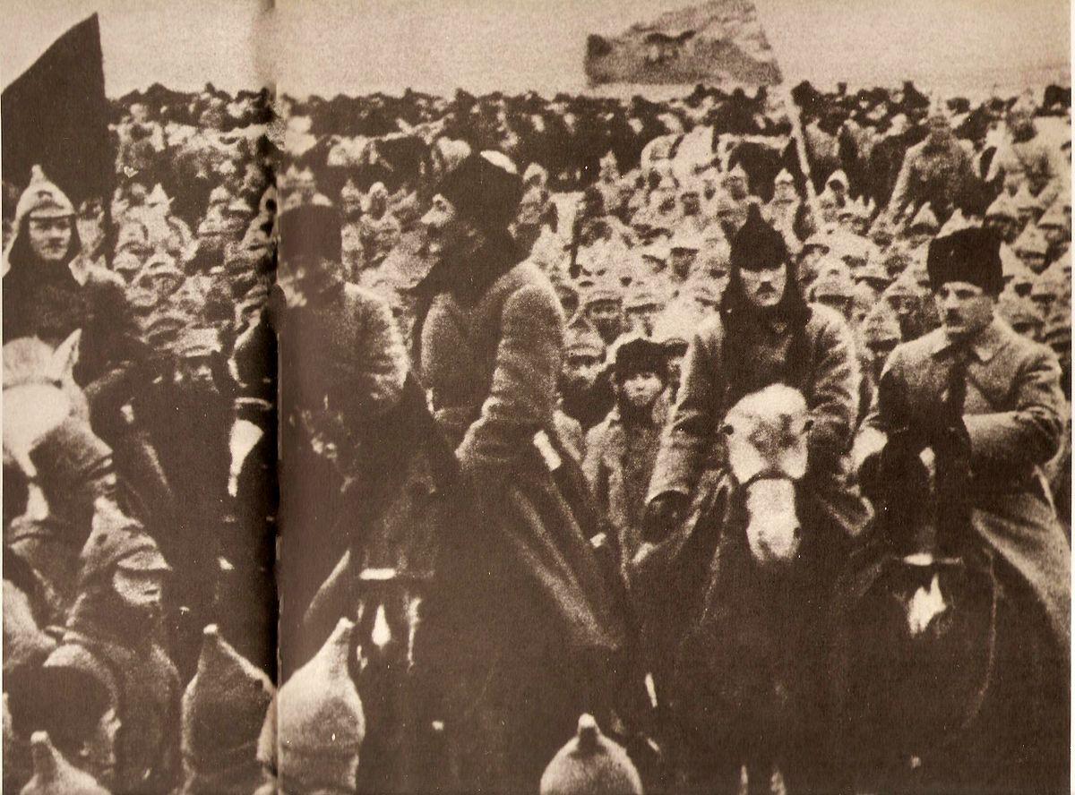 Буденный Семен Михайлович во время гражданской войны