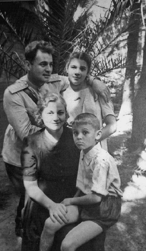 Жена и дети Черняховского И.Д.