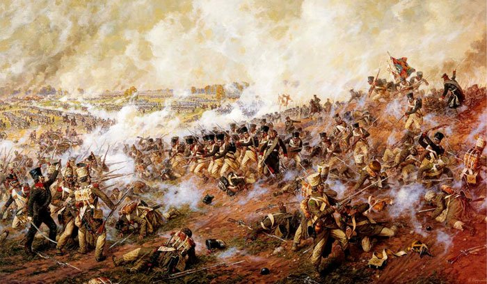 Сражение под Бородино в 1812 году