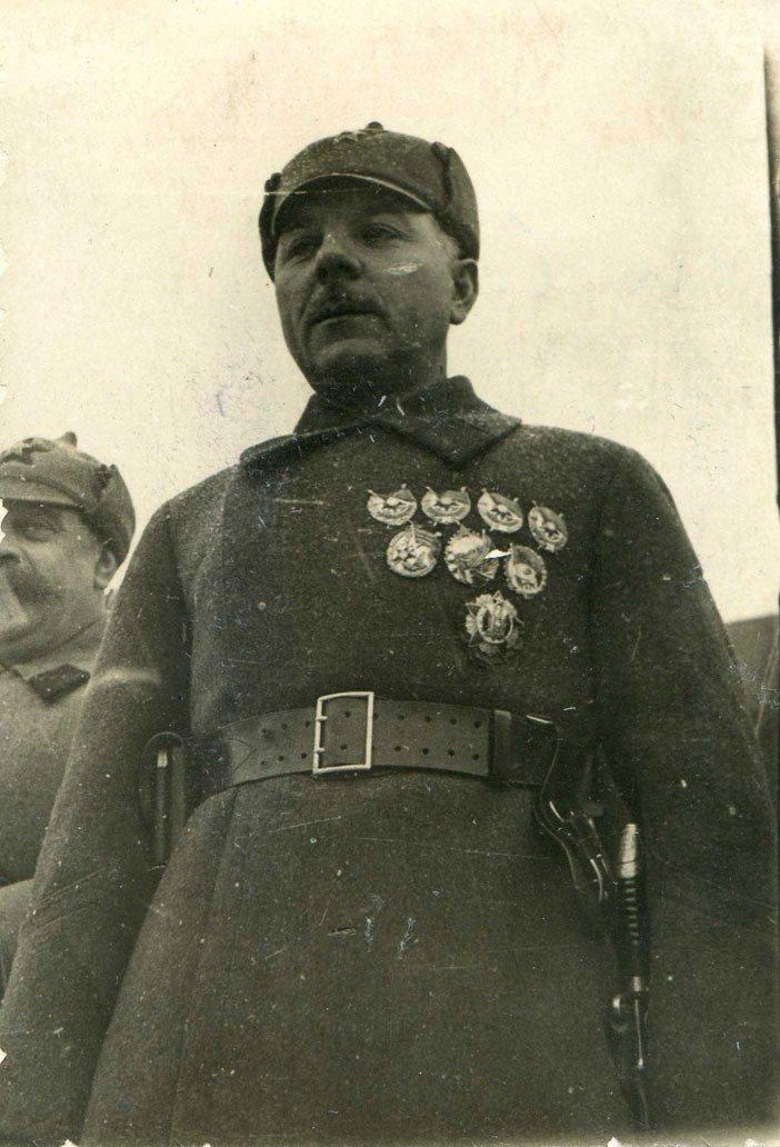 Фотография Ворошилова К. Е. времен гражданской войны
