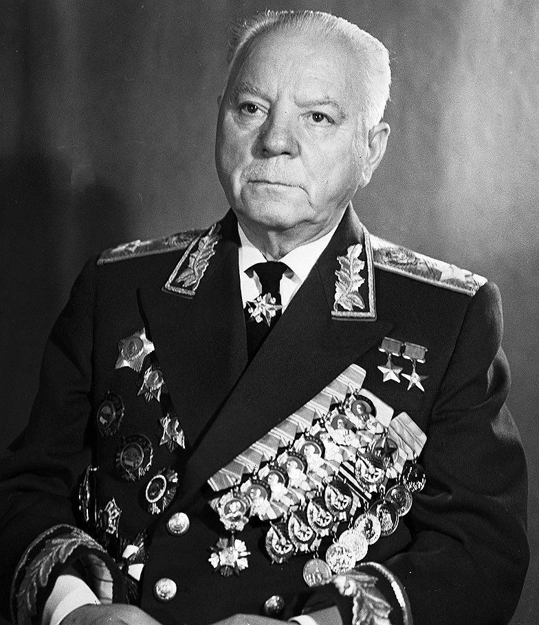 К.Е. Ворошилов в пожилые годы