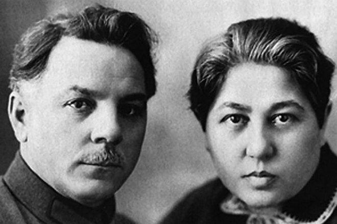 Климент Ворошилов с Екатериной Ворошиловой