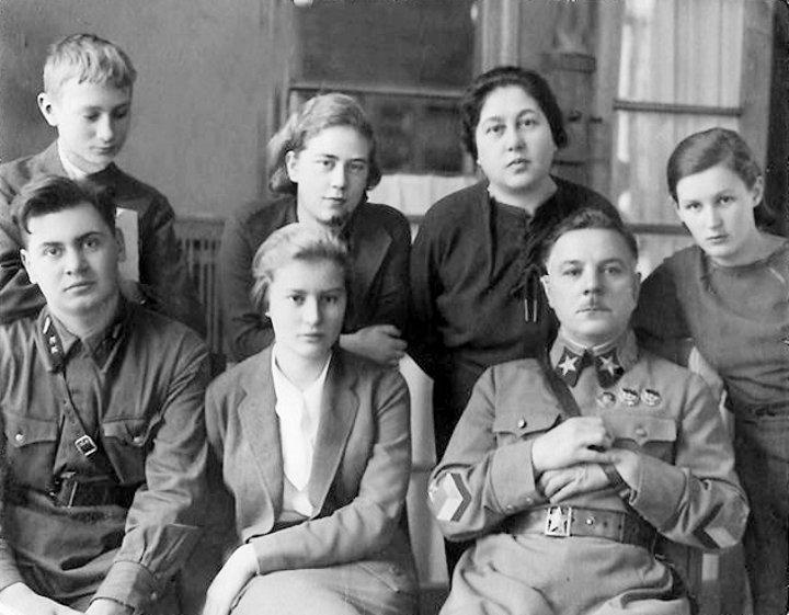 Ворошилов Климент, Ворошилова Екатерина и приёмные дети