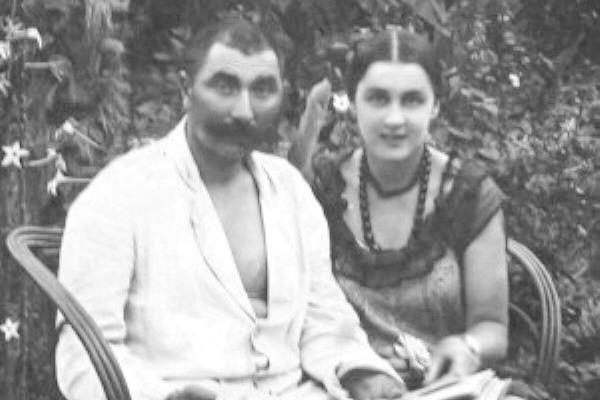 Семен Михайлович Буденный со второй женой Ольгой Будницкой