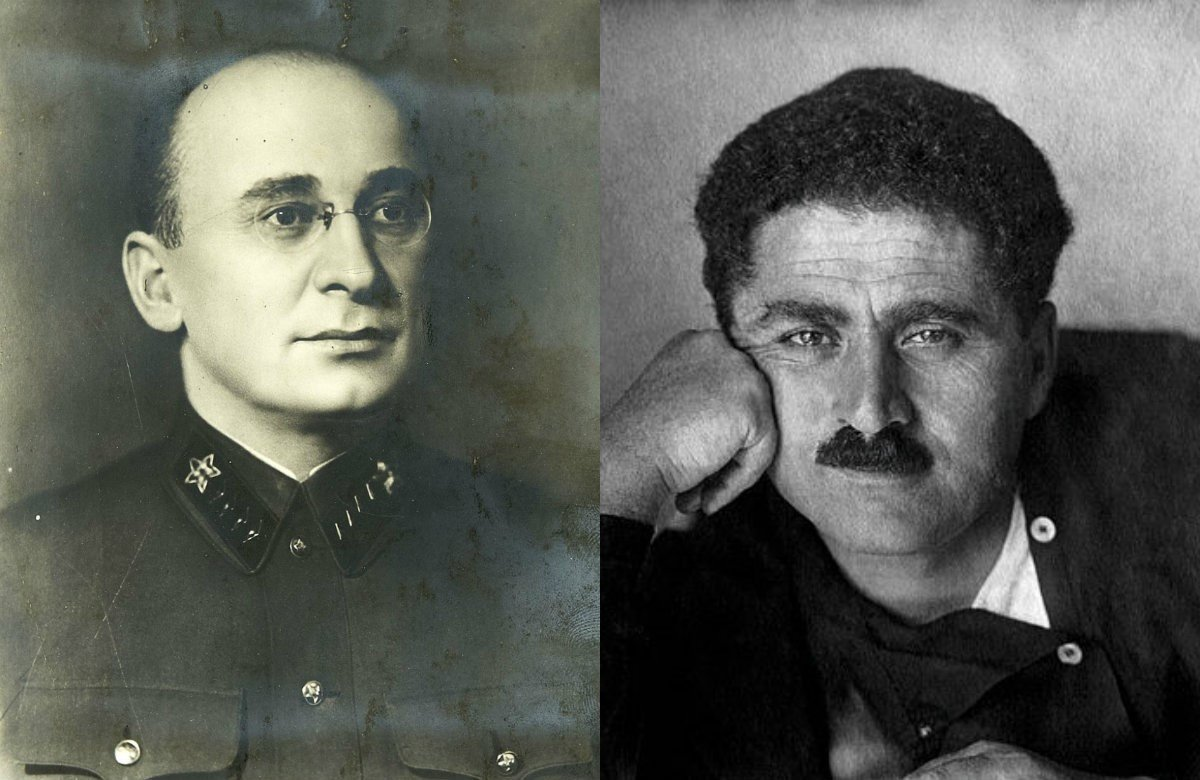 Берия и Агаси Гевондович Ханджян (первый секретарь ЦК КП(б) Армении в 1930—36 гг.)