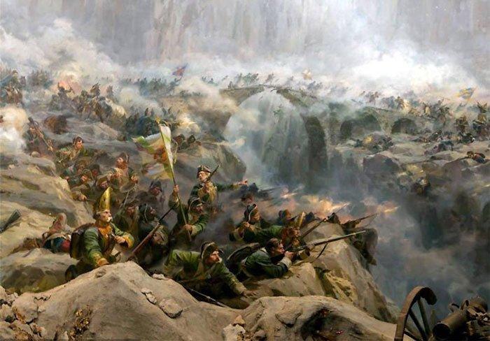 25 сентября 1799 года Суворов штурмом взял «Чёртов мост»