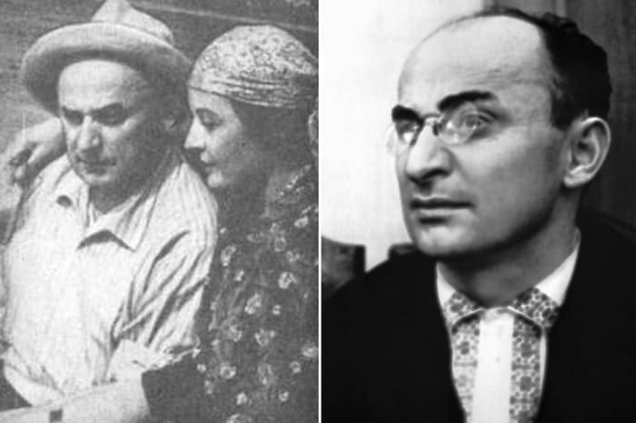 Лаврентий Берия и его жена Нино Гегечкори