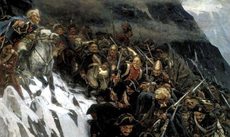 Швейцарский поход армии Александра Васильевича Суворова