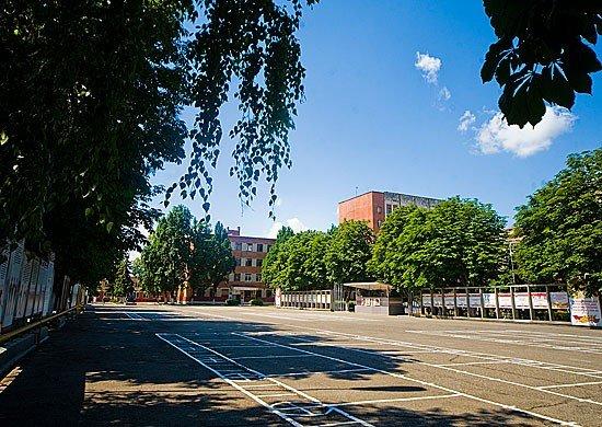 Плац Краснодарского военного училища им. С.М. Штеменко