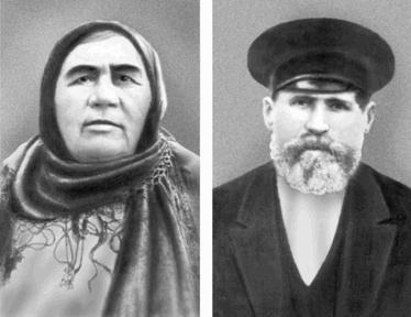Родители маршала Меланья Емченко и Михаил Буденный