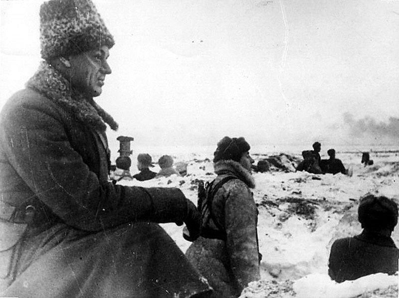 Рокоссовский в битве под Сталинградом
