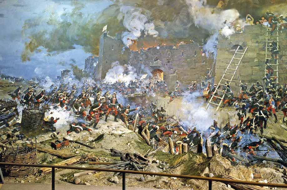 Взятие турецкой крепости Измаил армией Суворова