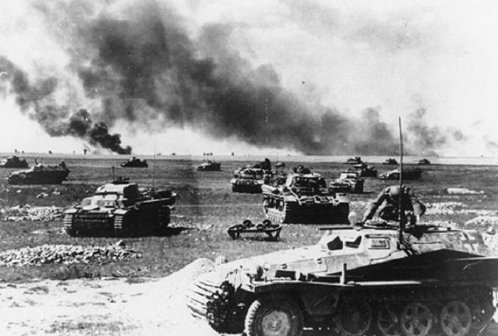 Танковая битва в ВОВ