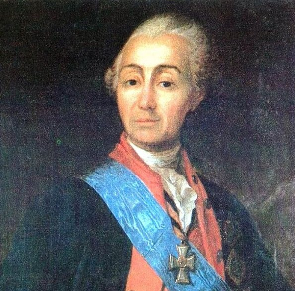 Отец Суворова - Василий Иванович Суворов