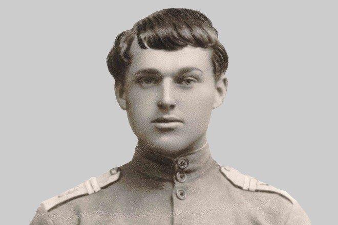 Рокоссовский в юности
