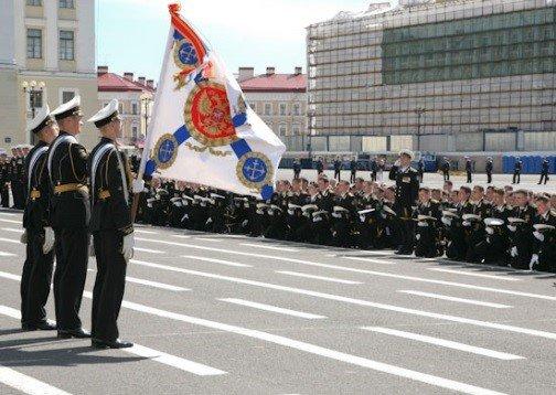 Присяга курсантов ВУНЦ ВМФ ВМА