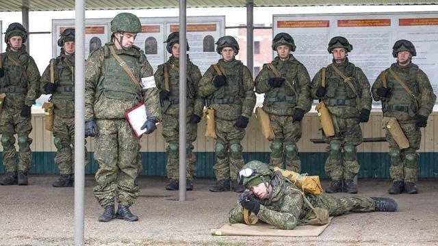 Боевые стрельбы у курсантов ДВОКУ