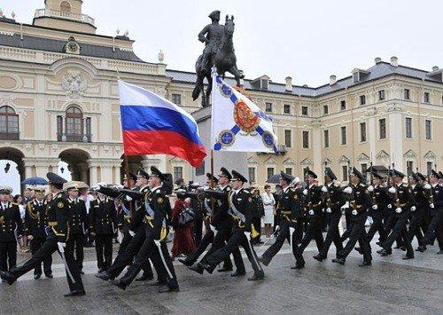 Строевой марш курсантов ВУНЦ ВМФ ВМА