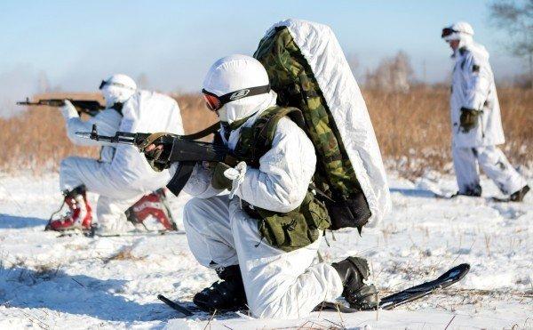 Военные учения у курсантов ДВОКУ
