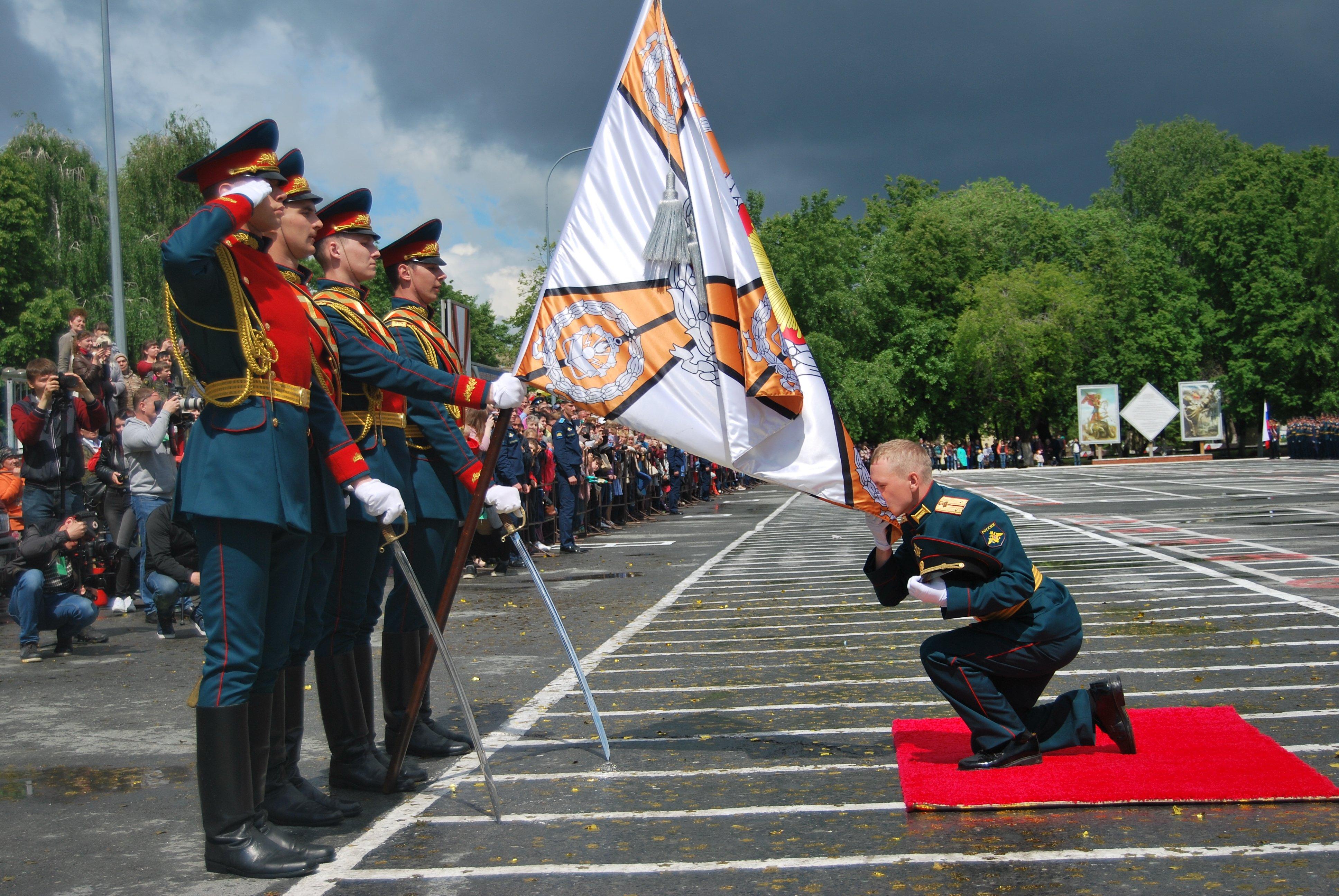 Выпуск лейтенантов в ТВВИКУ