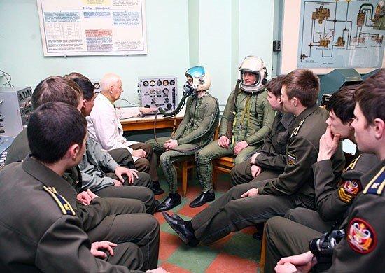Занятия курсантов в ВМА