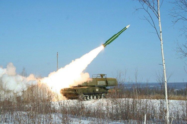 Учебный запуск ракеты