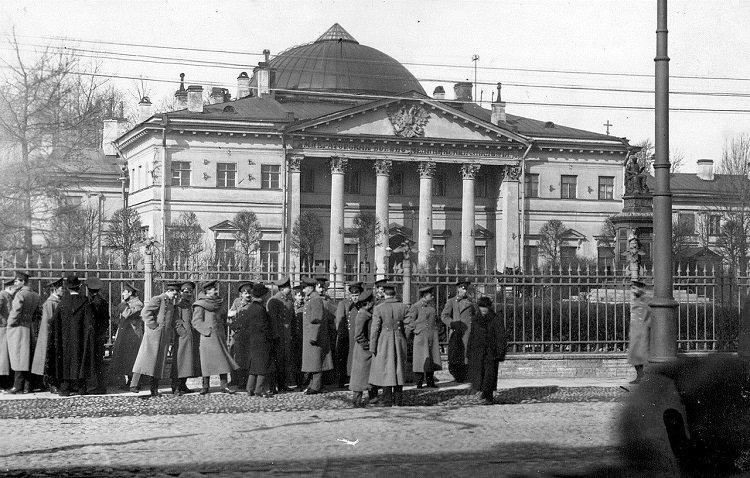 Здание Императорской военно-медицинской академии
