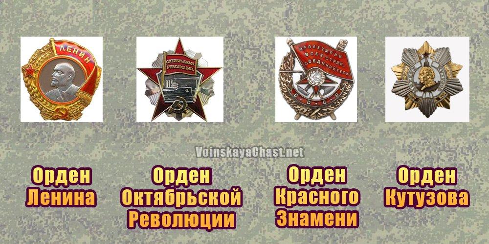 Награды Военно-воздушной академии