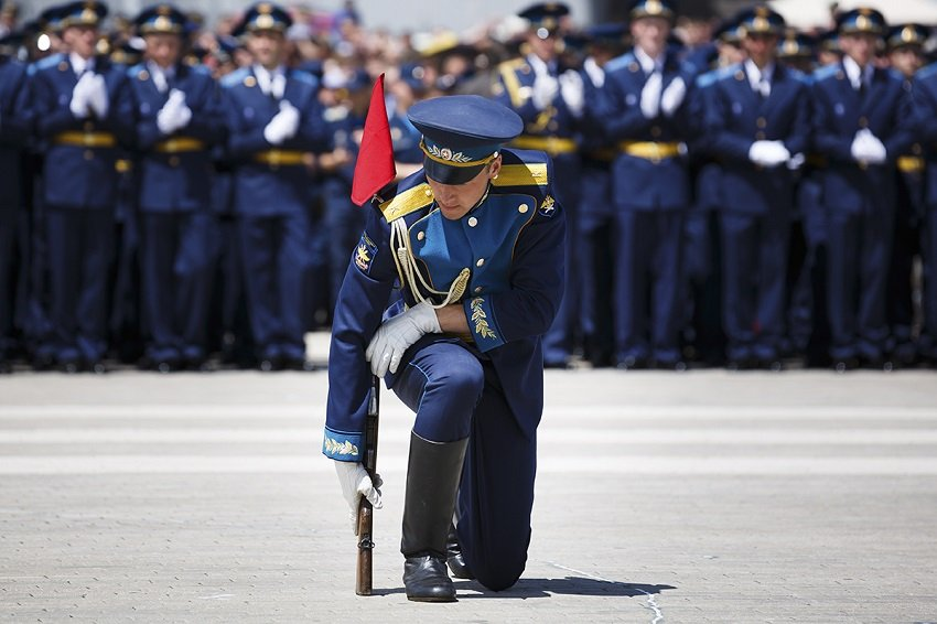 Выпуск офицеров в ВУНЦ ВВС ВВА