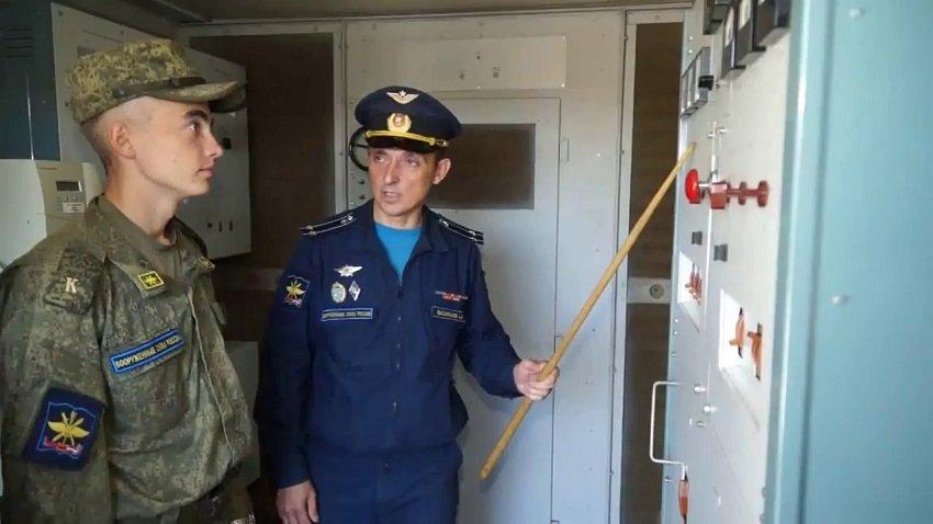 Занятия курсантов в ВУНЦ ВВС «ВВА»