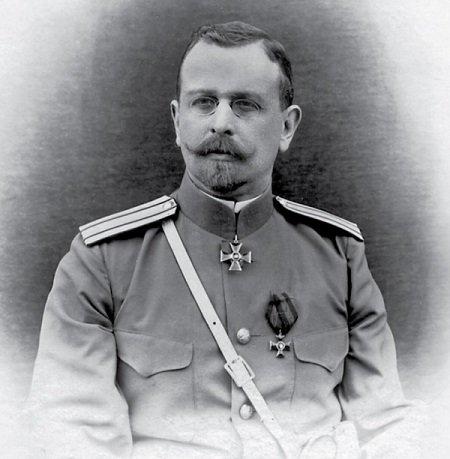 Генерал Георгий Владимирович Бурман