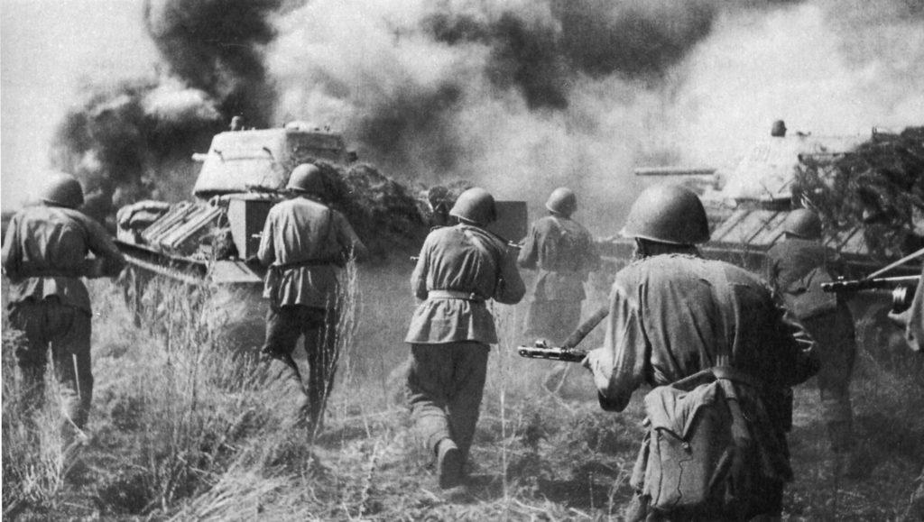 Сражение во время Великой Отечественной войны