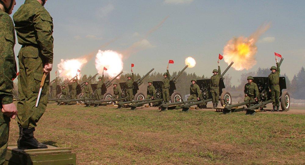 Артиллеристы отмечают профессиональный праздник