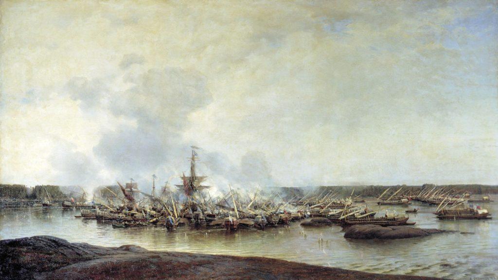 Победа у мыса Гангут в 1714 году