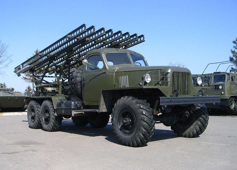 Установка БМ-13 Катюша