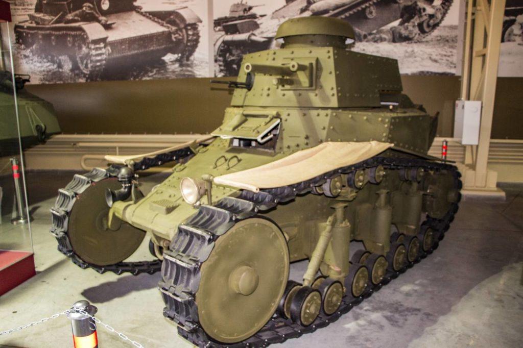 Первый танк советского производства