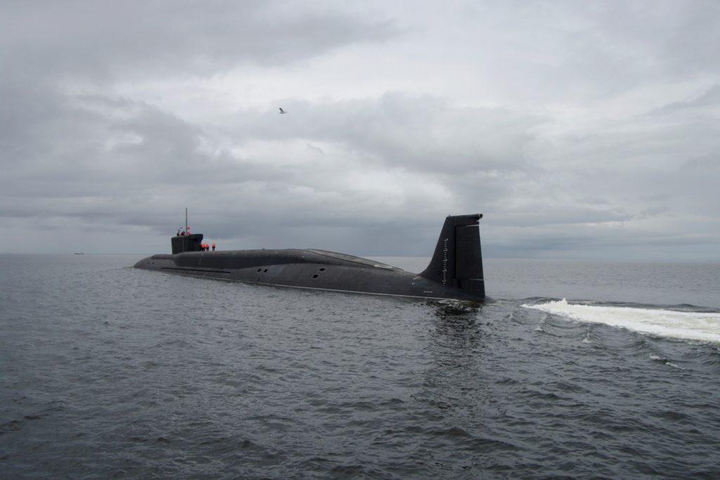 Подводная лодка ракетоносец