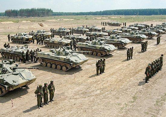 Построение личного состава и вооружения ВДВ