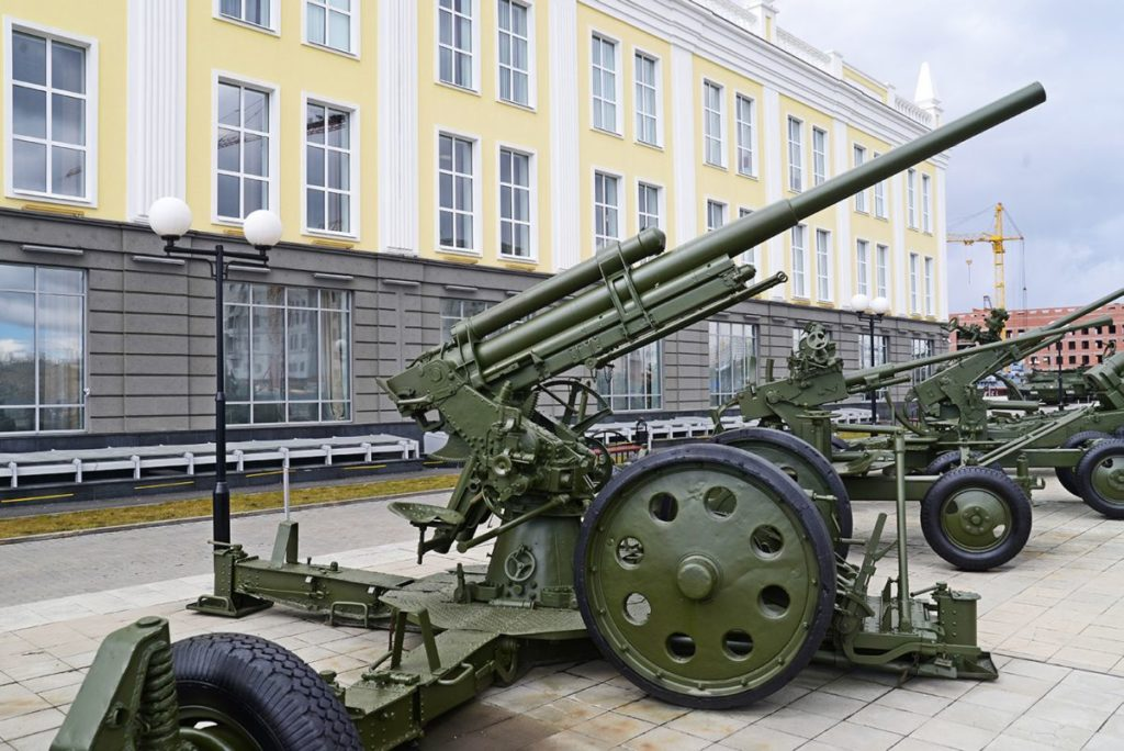76-мм зенитная пушка
